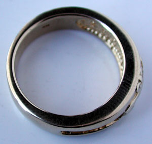thickness of ring