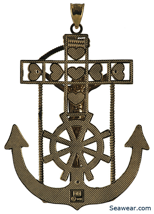 mariners crucifix anchor cross