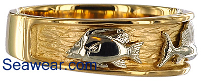 hogfish triple fish ring