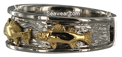 redfish triple fish ring