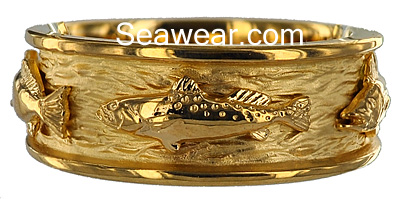 sea trout fish ring