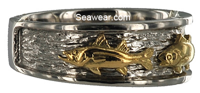 snook triple fish ring