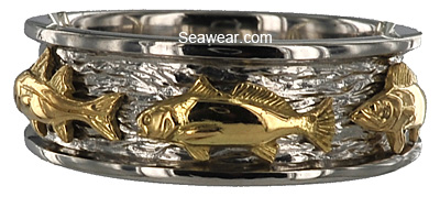 tarpon triple fish ring