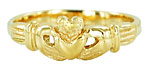 infant baby Claddagh ring