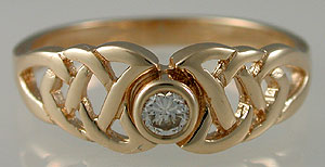 celtic enagement ring