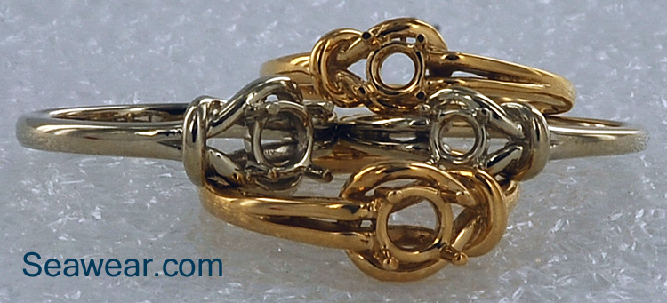 Celtic love knot ring colleciton