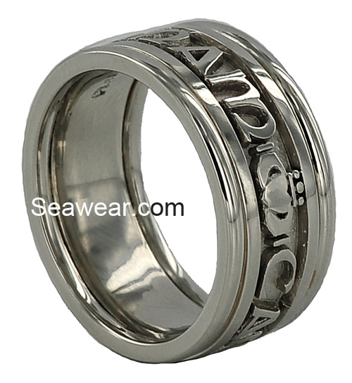platinum Mo Anam Cara wedding ring