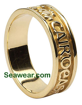 Gaelic wedding ring