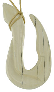 mammoth ivory fish hook