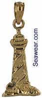 3D cape hatteras lighthouse charm