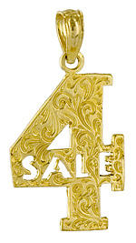 for 4 four sale charm jewelry