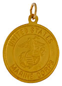 United States Marine Corps USMC and Saint Christopher Medal