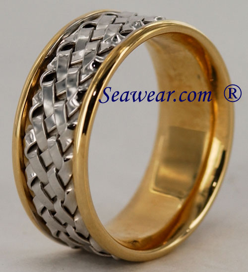 hand woven clearance sale wedding ring