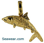 Florida bonefish pendant