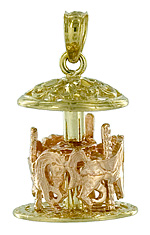 carousel jewelry charm hampton old orchard